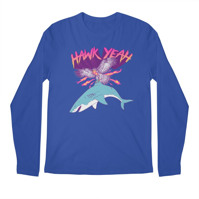 Hawk Yeah Men's Longsleeve T-Shirt by hillarywhiterabbit's Artist Shop