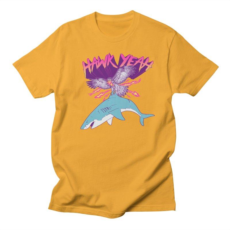 Hawk Yeah Men's T-Shirt by hillarywhiterabbit's Artist Shop