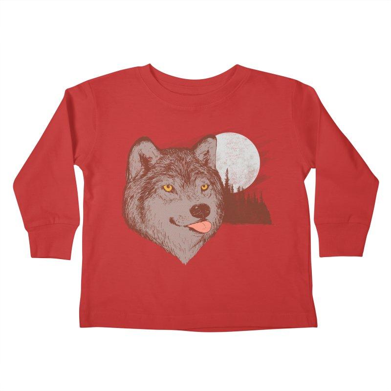 Spirit Derp Kids Toddler Longsleeve T-Shirt by hillarywhiterabbit's Artist Shop