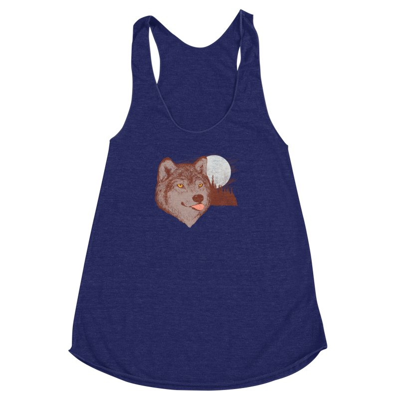 Spirit Derp Women's Racerback Triblend Tank by hillarywhiterabbit's Artist Shop