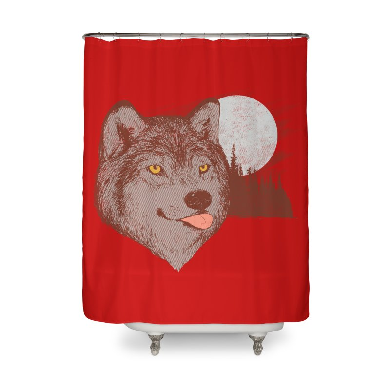 Spirit Derp Home Shower Curtain by hillarywhiterabbit's Artist Shop