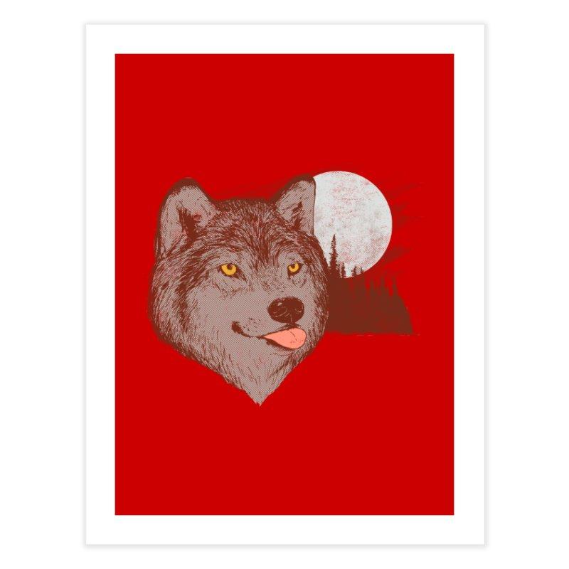 Spirit Derp Home Fine Art Print by hillarywhiterabbit's Artist Shop