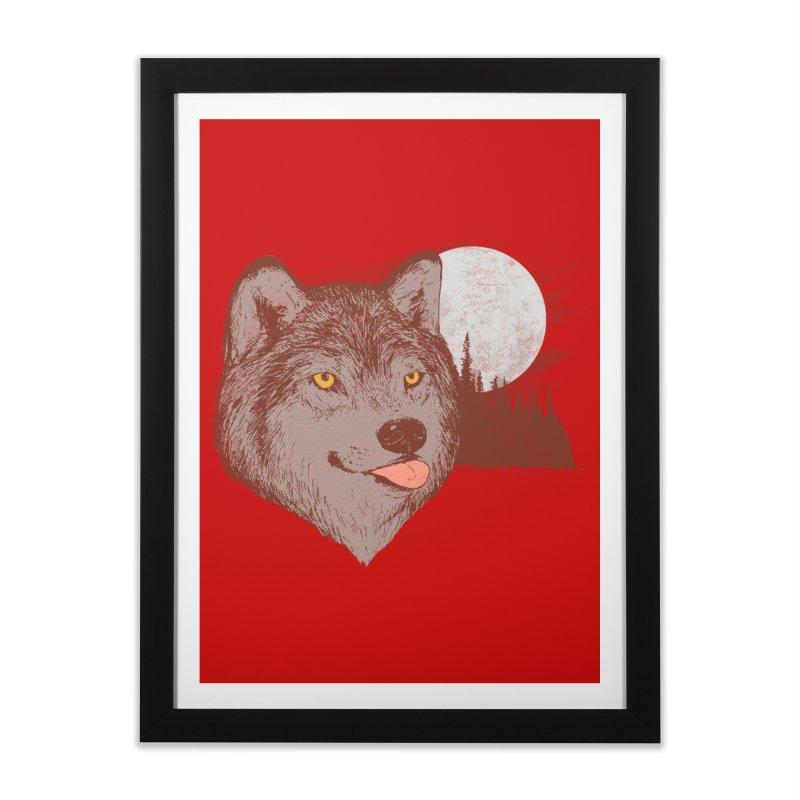 Spirit Derp Home Framed Fine Art Print by hillarywhiterabbit's Artist Shop