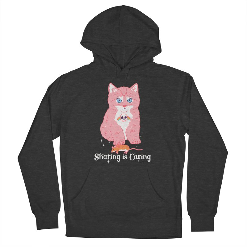 Sharing is Caring Men's Pullover Hoody by hillarywhiterabbit's Artist Shop