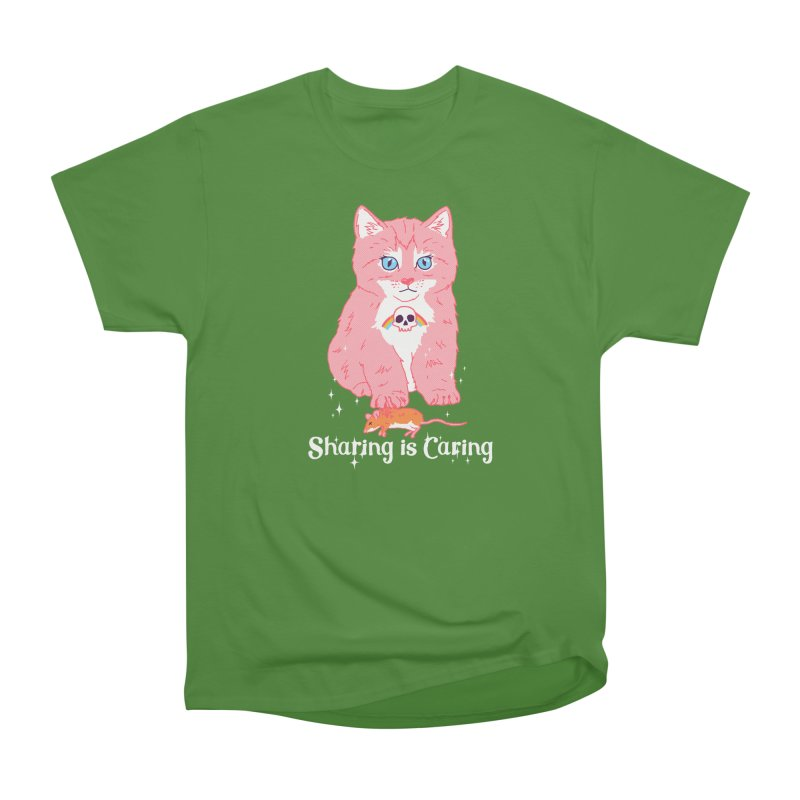 Sharing is Caring Men's Classic T-Shirt by hillarywhiterabbit's Artist Shop