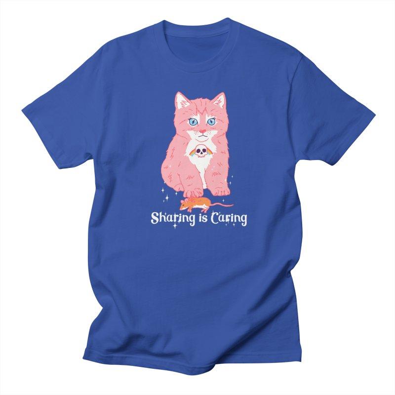 Sharing is Caring Men's T-Shirt by hillarywhiterabbit's Artist Shop