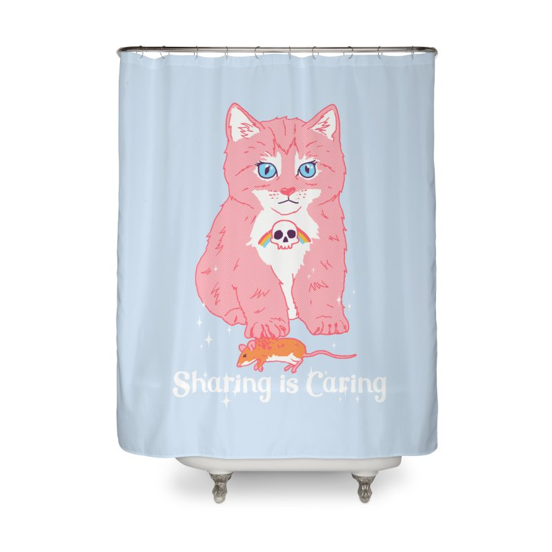 Sharing is Caring Home Shower Curtain by hillarywhiterabbit's Artist Shop