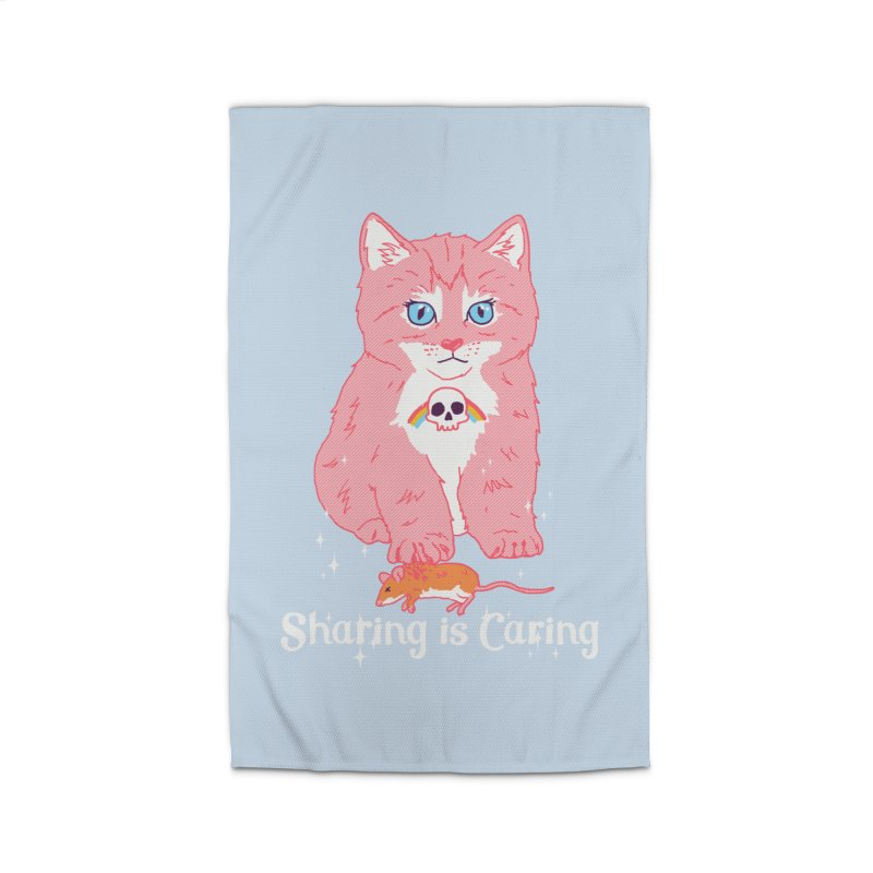 Sharing is Caring Home Rug by hillarywhiterabbit's Artist Shop