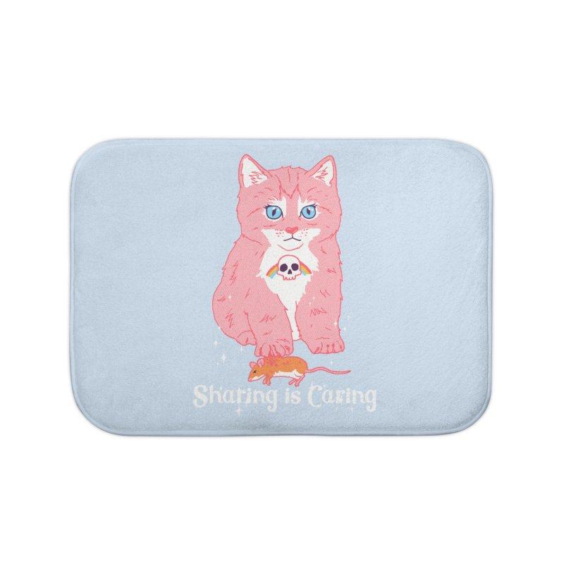 Sharing is Caring Home Bath Mat by hillarywhiterabbit's Artist Shop