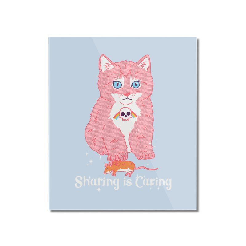 Sharing is Caring Home Mounted Acrylic Print by hillarywhiterabbit's Artist Shop