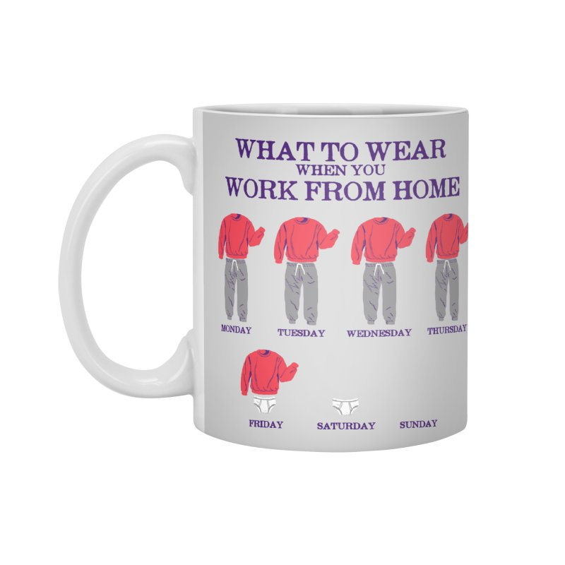 What To Wear Accessories Mug by hillarywhiterabbit's Artist Shop
