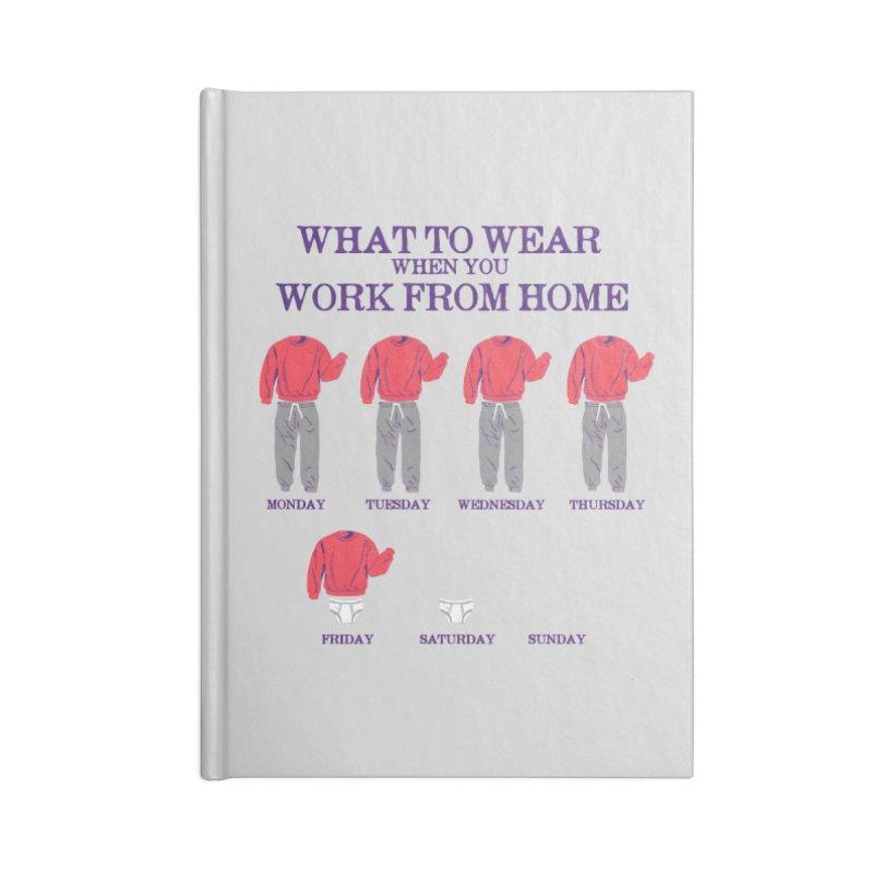 What To Wear Accessories Notebook by hillarywhiterabbit's Artist Shop