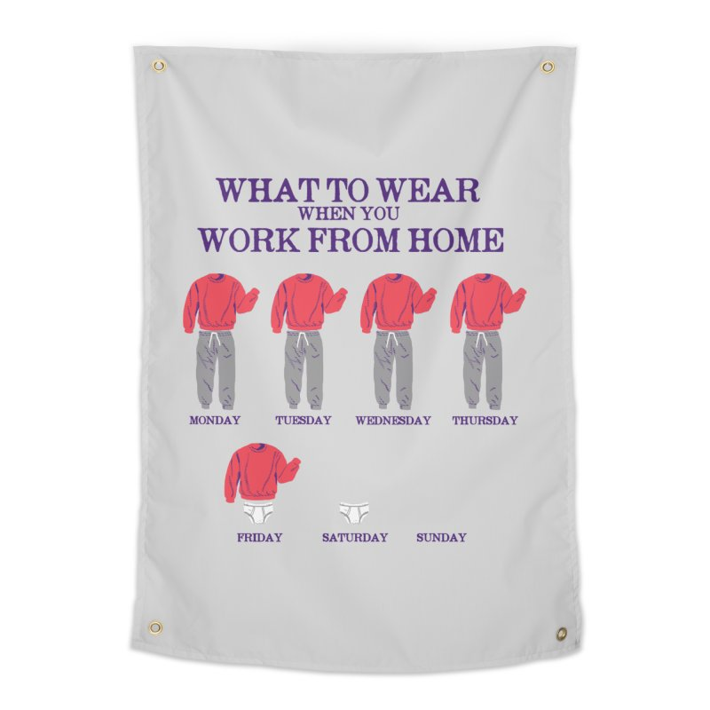 What To Wear Home Tapestry by hillarywhiterabbit's Artist Shop