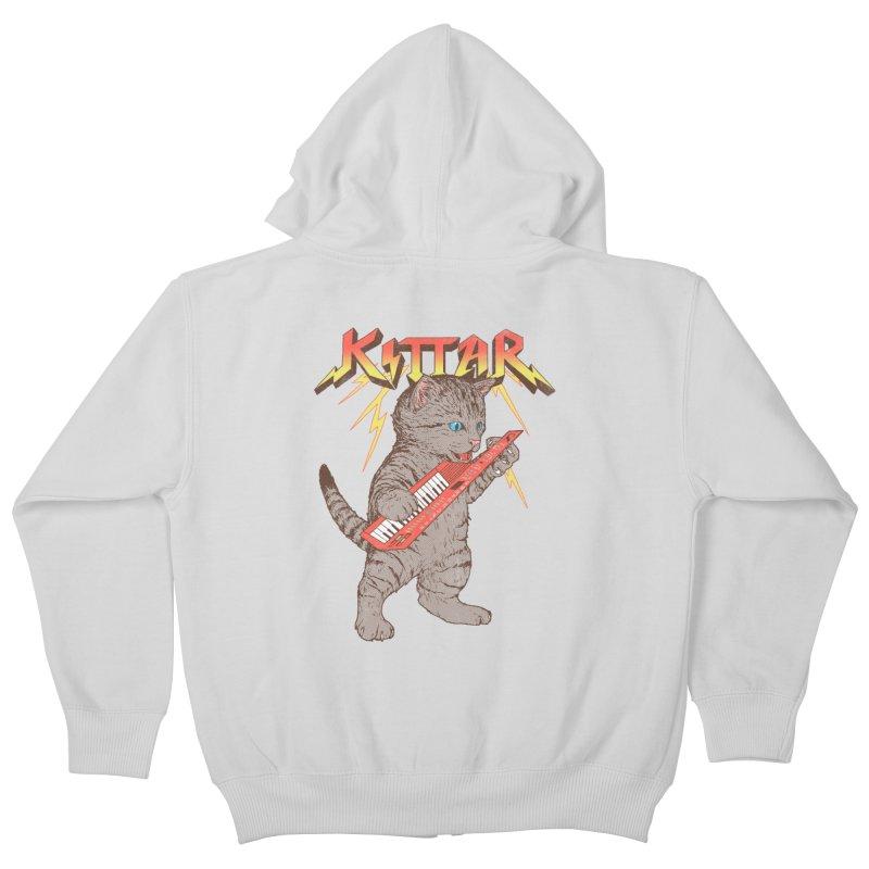 Kittar Kids Zip-Up Hoody by hillarywhiterabbit's Artist Shop
