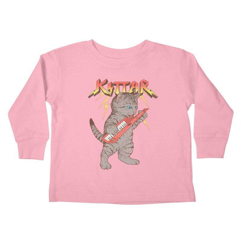 Kittar Kids Toddler Longsleeve T-Shirt by hillarywhiterabbit's Artist Shop
