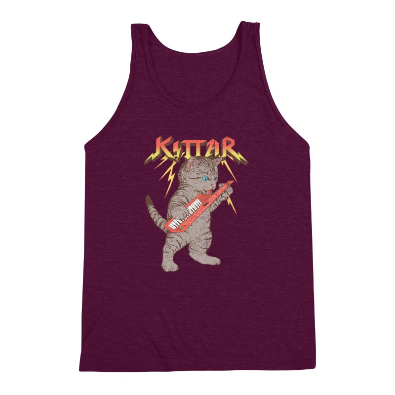 Kittar Men's Triblend Tank by hillarywhiterabbit's Artist Shop