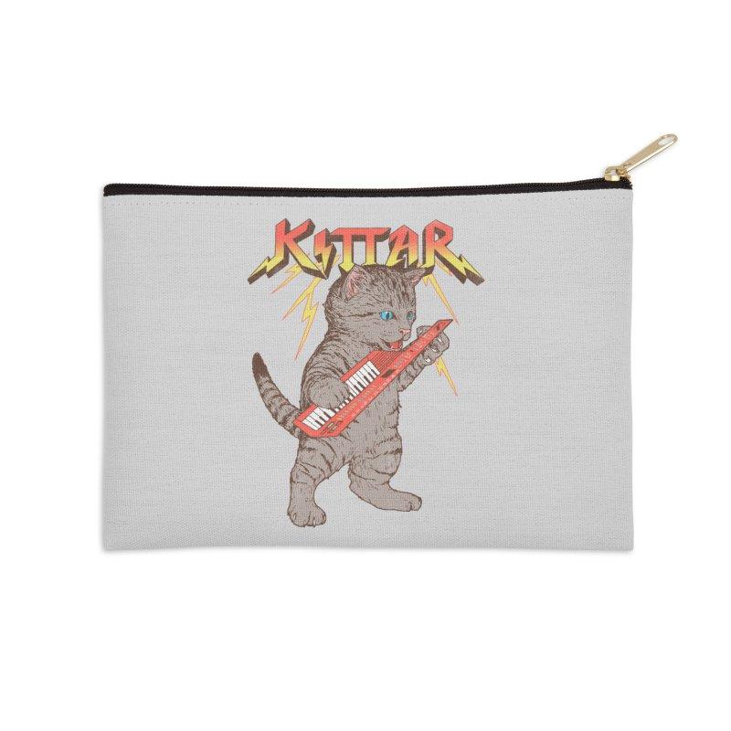 Kittar Accessories Zip Pouch by hillarywhiterabbit's Artist Shop