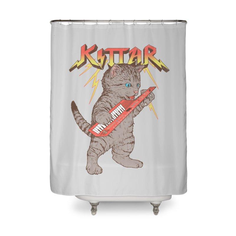 Kittar Home Shower Curtain by hillarywhiterabbit's Artist Shop