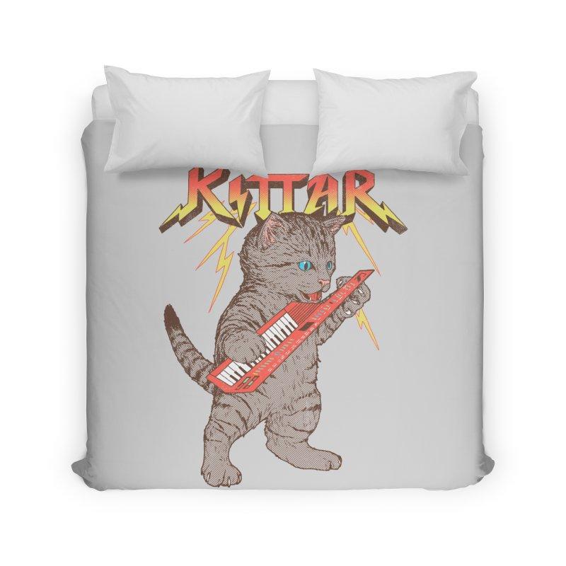 Kittar Home Duvet by hillarywhiterabbit's Artist Shop