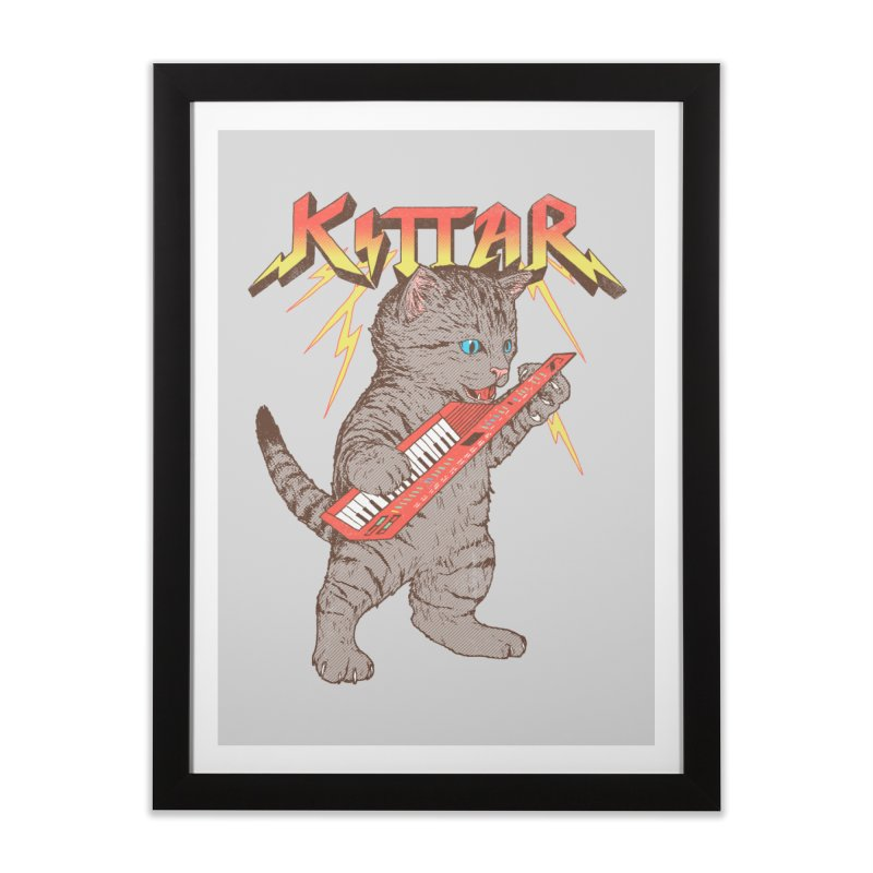 Kittar Home Framed Fine Art Print by hillarywhiterabbit's Artist Shop