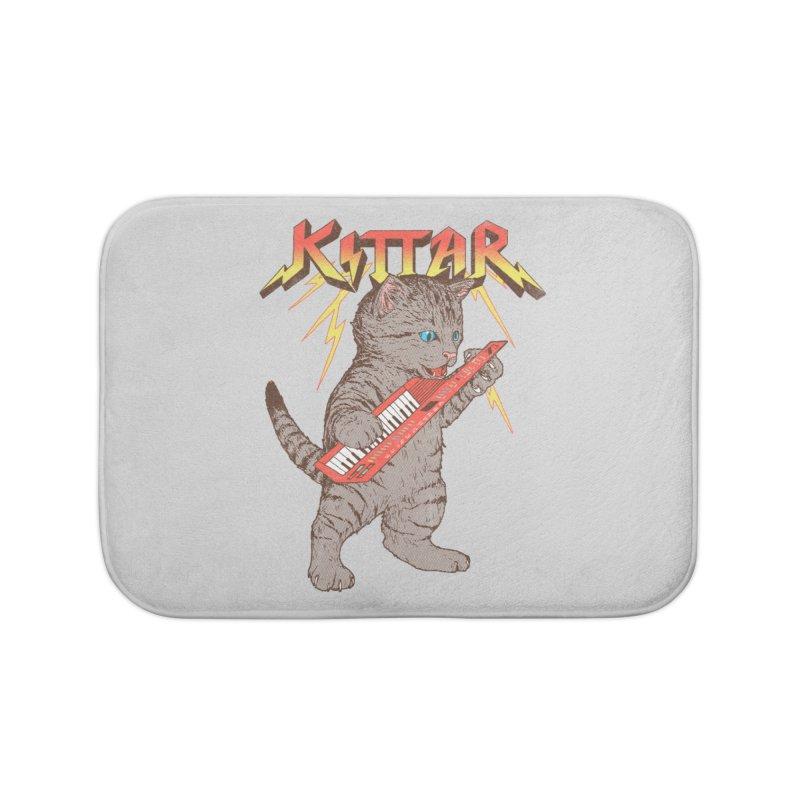 Kittar Home Bath Mat by hillarywhiterabbit's Artist Shop