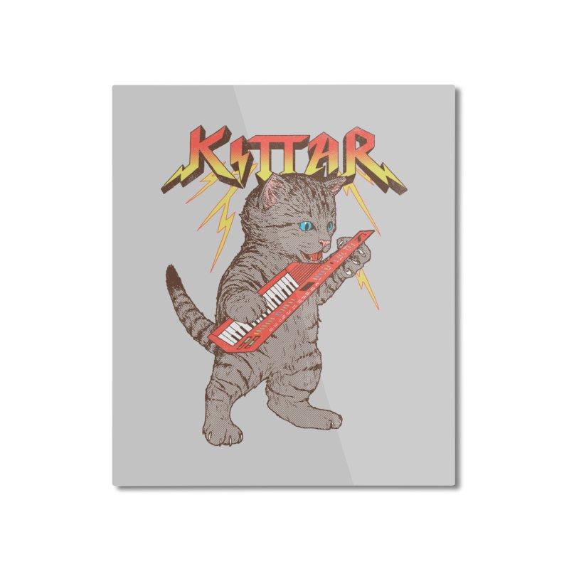 Kittar Home Mounted Aluminum Print by hillarywhiterabbit's Artist Shop