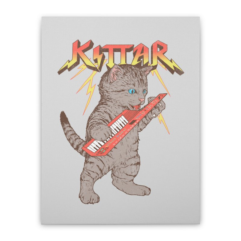Kittar Home Stretched Canvas by hillarywhiterabbit's Artist Shop