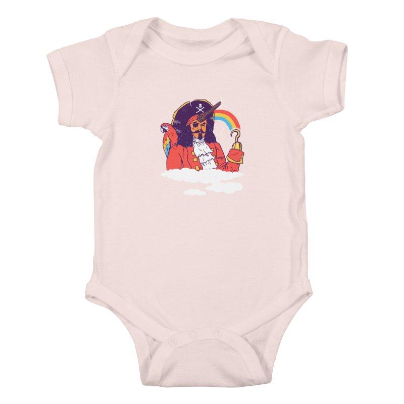 Pegacorn Kids Baby Bodysuit by hillarywhiterabbit's Artist Shop