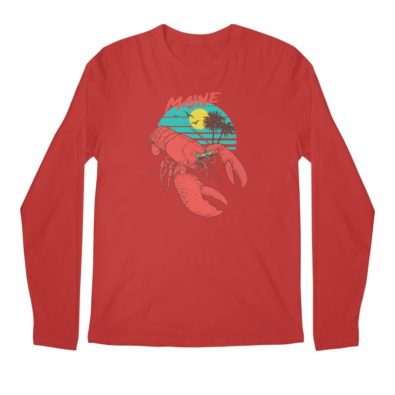 Maine Men's Longsleeve T-Shirt by hillarywhiterabbit's Artist Shop