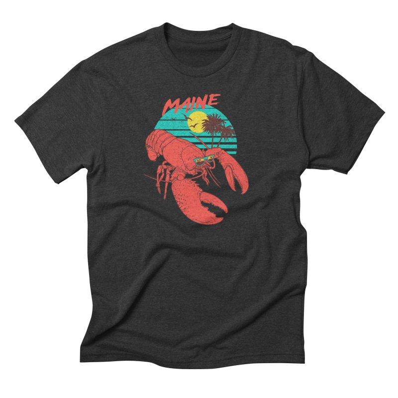 Maine Men's Triblend T-Shirt by hillarywhiterabbit's Artist Shop