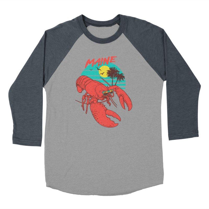 Maine Women's Baseball Triblend T-Shirt by hillarywhiterabbit's Artist Shop