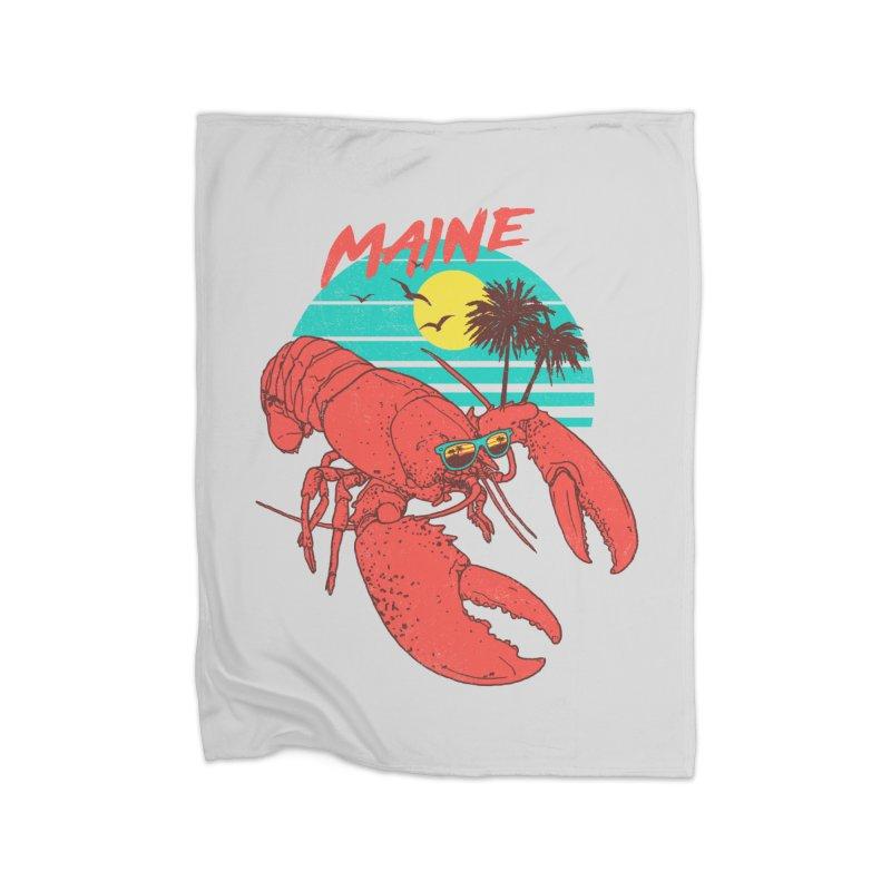 Maine Home Blanket by hillarywhiterabbit's Artist Shop