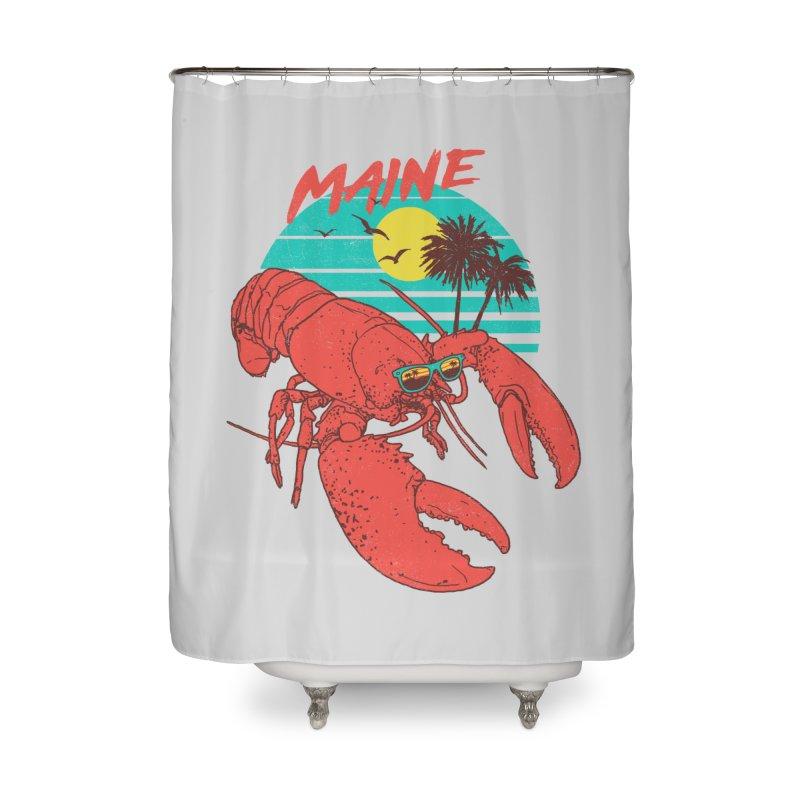 Maine Home Shower Curtain by hillarywhiterabbit's Artist Shop