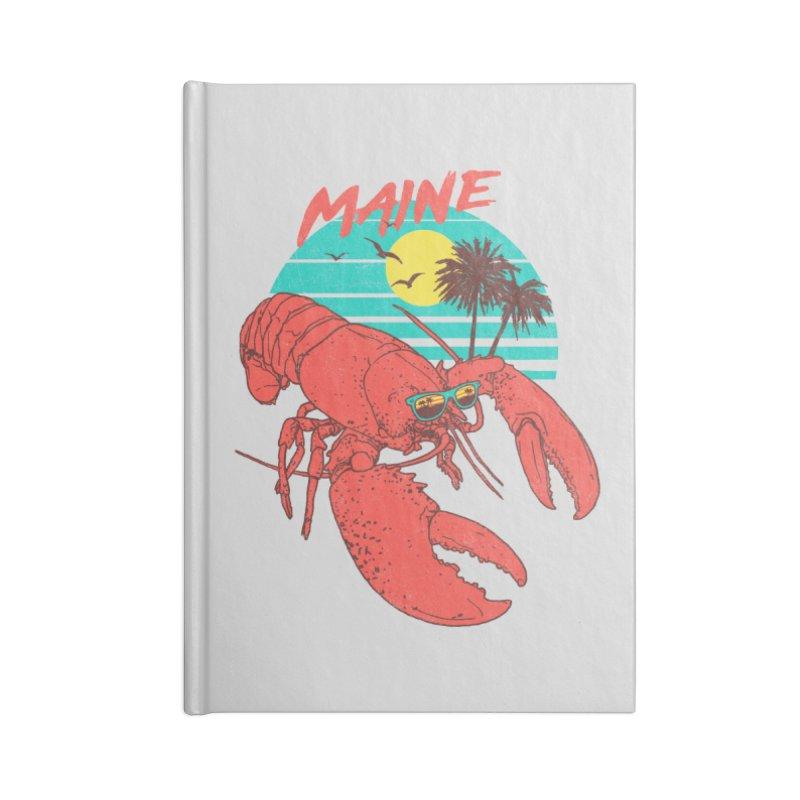 Maine Accessories Notebook by hillarywhiterabbit's Artist Shop