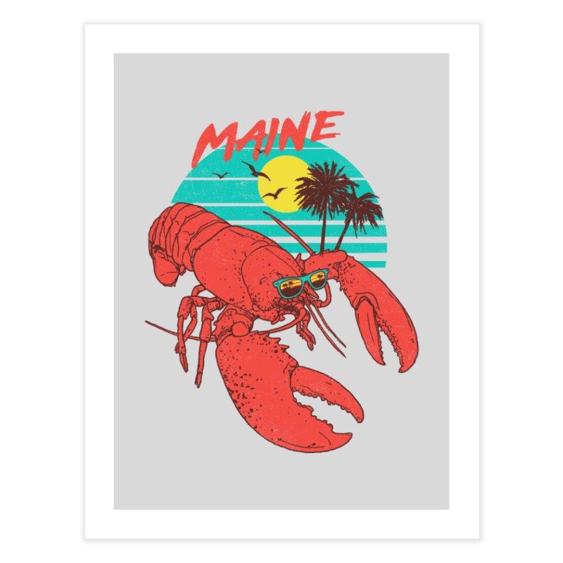 Maine Home Fine Art Print by hillarywhiterabbit's Artist Shop