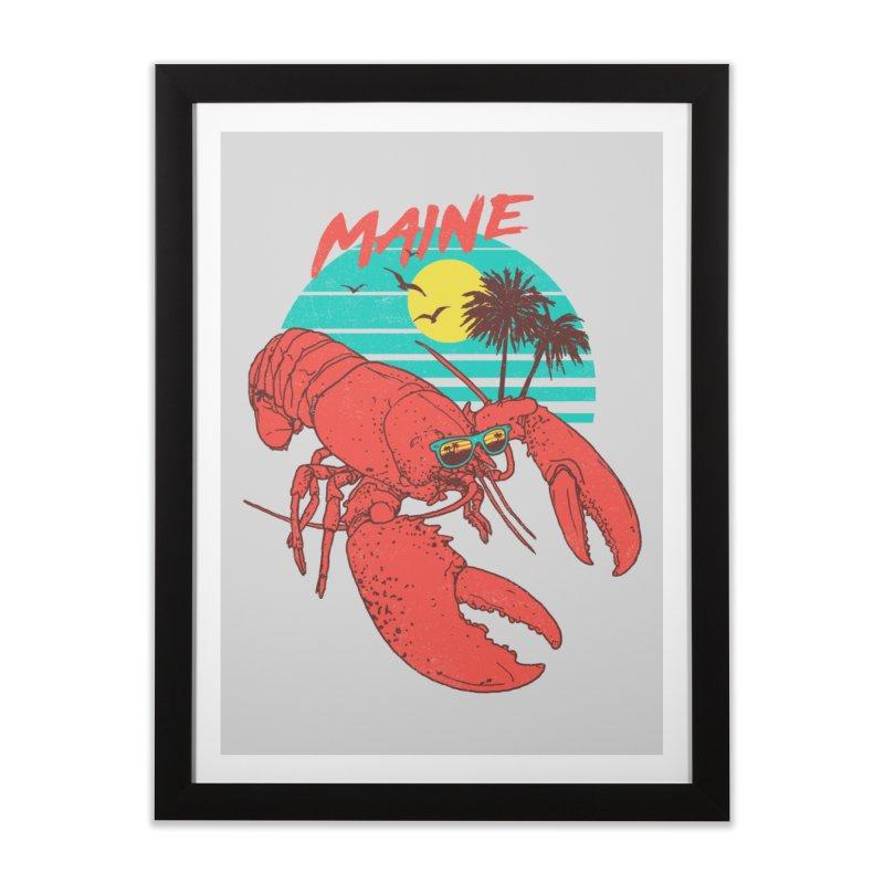 Maine Home Framed Fine Art Print by hillarywhiterabbit's Artist Shop