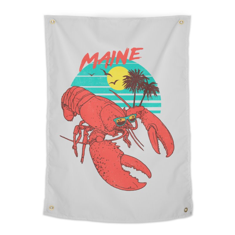 Maine Home Tapestry by hillarywhiterabbit's Artist Shop