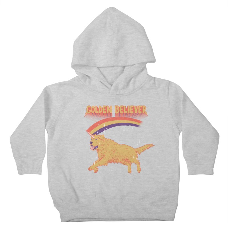 Golden Believer Kids Toddler Pullover Hoody by Hillary White