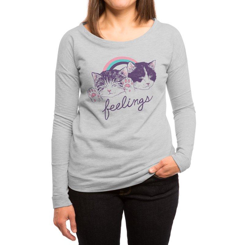 Feelings Women's Longsleeve T-Shirt by Hillary White