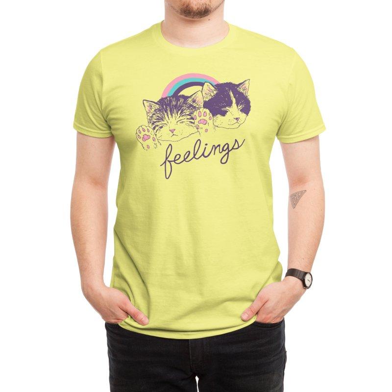 Feelings Men's T-Shirt by Hillary White Rabbit
