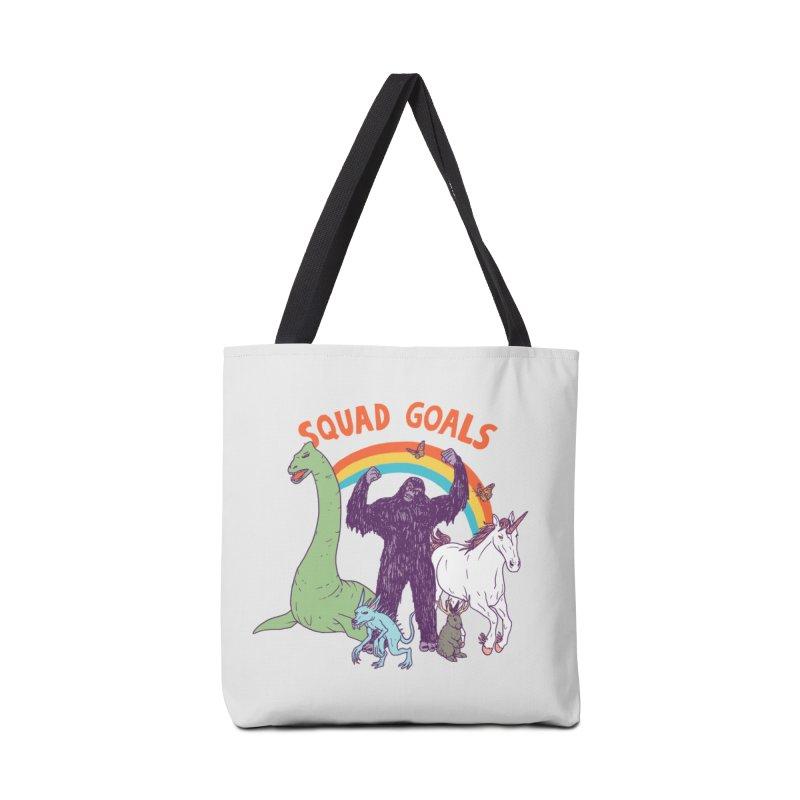 Squad Goals: Cryptids Accessories Bag by hillarywhiterabbit's Artist Shop
