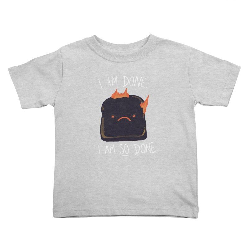 Toast Kids Toddler T-Shirt by hillarywhiterabbit's Artist Shop