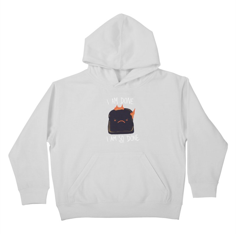 Toast Kids Pullover Hoody by hillarywhiterabbit's Artist Shop