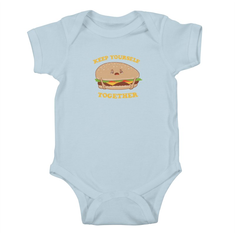 Keep Yourself Together Kids Baby Bodysuit by hillarywhiterabbit's Artist Shop