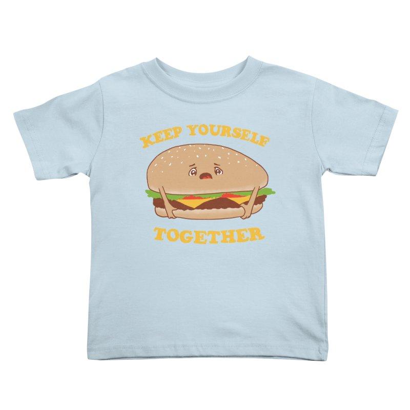Keep Yourself Together Kids Toddler T-Shirt by hillarywhiterabbit's Artist Shop