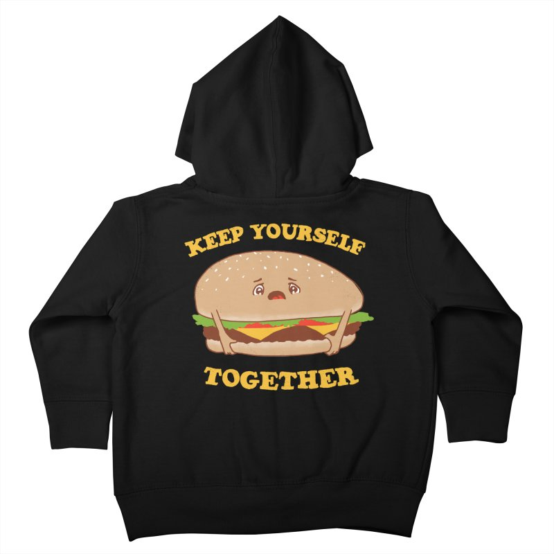 Keep Yourself Together Kids Toddler Zip-Up Hoody by hillarywhiterabbit's Artist Shop