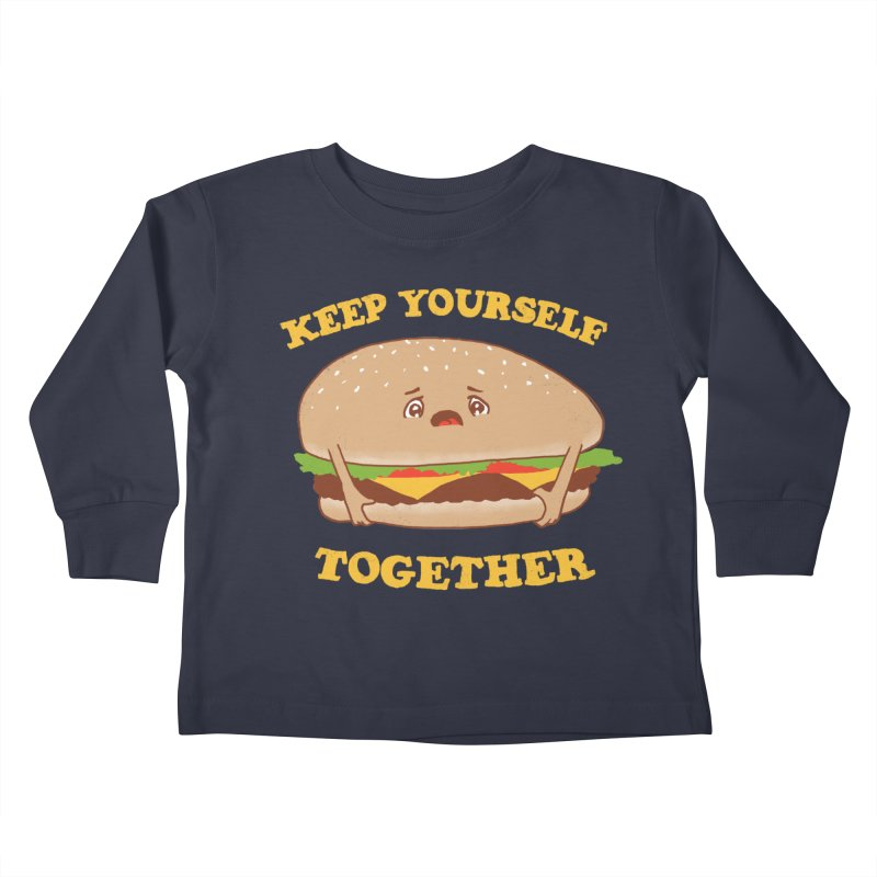 Keep Yourself Together Kids Toddler Longsleeve T-Shirt by hillarywhiterabbit's Artist Shop