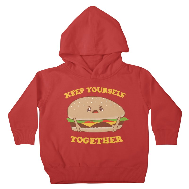 Keep Yourself Together Kids Toddler Pullover Hoody by hillarywhiterabbit's Artist Shop