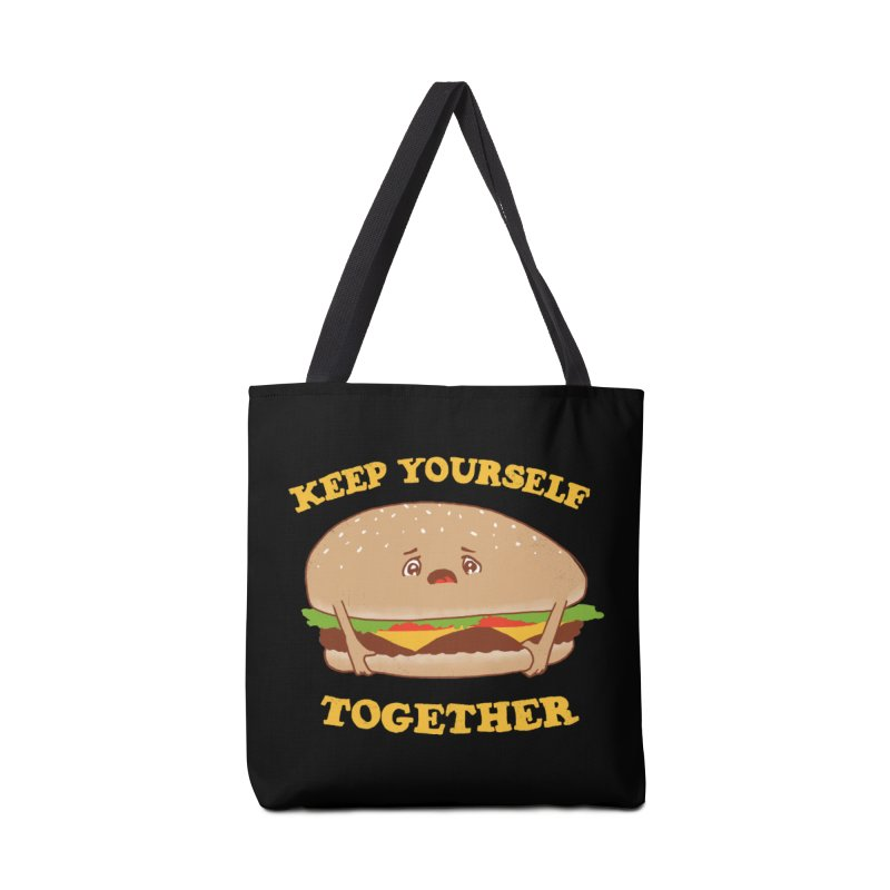 Keep Yourself Together Accessories Bag by hillarywhiterabbit's Artist Shop