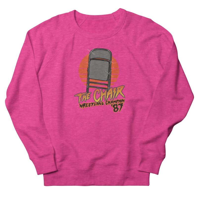 Wrestling Champion Women's Sweatshirt by hillarywhiterabbit's Artist Shop